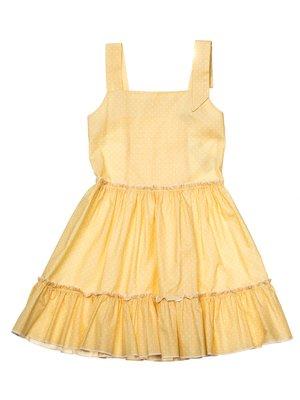 Платье желтое | 3244807
