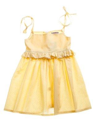 Платье желтое   3244833