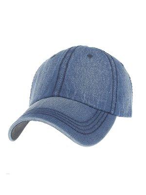 Бейсболка синяя джинсовая | 3331266