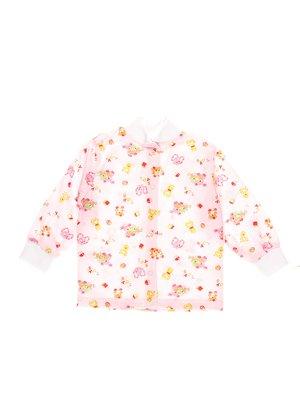 Сорочечка рожева в принт   3322938