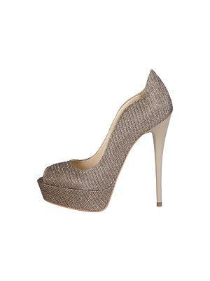 Туфли золотистые | 3334171