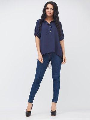 Блуза синьо-біла | 3338347