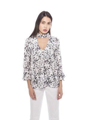 Блуза в цветочный принт | 3333024