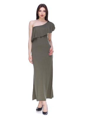 Сукня кольору хакі | 3190647