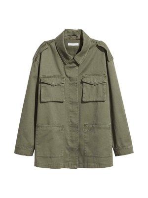 Куртка оливкового кольору | 3312572