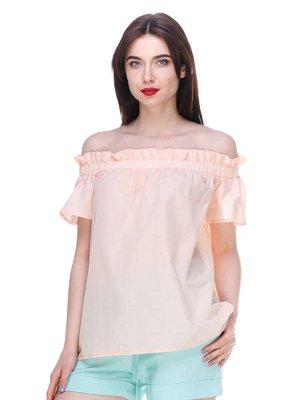 Блуза персикового кольору | 3328777