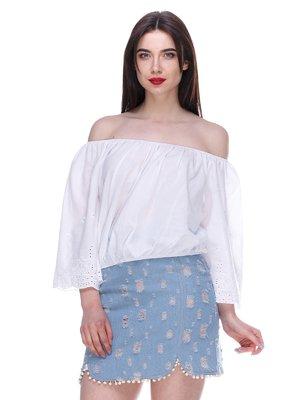 Блуза белая   3328783