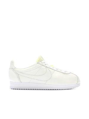Кроссовки белые Classic Cortez Leather PRM | 3342957