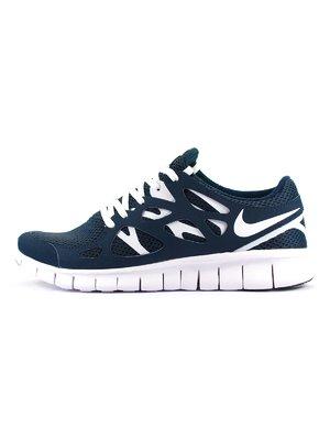 Кроссовки темно-синие Free Run 3.0 | 3343119