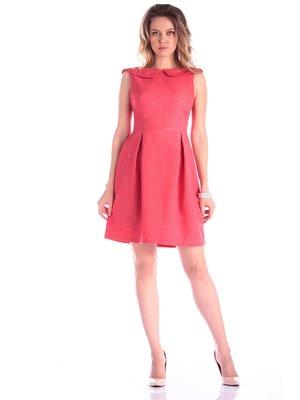 Сукня кольору червоний корал | 3347721