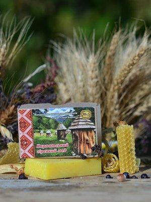Мыло туалетное натуральное ручной работы «Карпатский горный мед» (75 г) - ЯКА - 3353751
