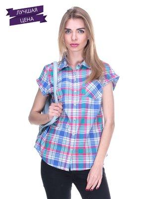 Блуза клетчатая | 1899384