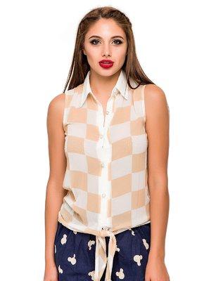 Блуза в клітинку | 3352548