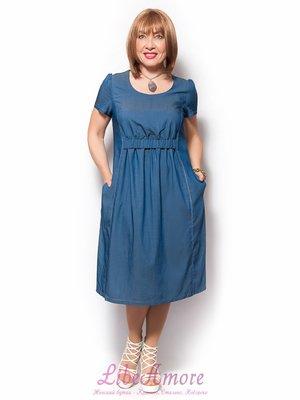 Платье голубое | 3365308