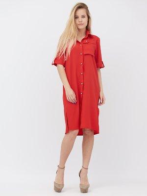 Платье красное | 3365564