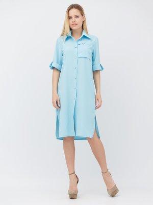 Платье голубое | 3365565