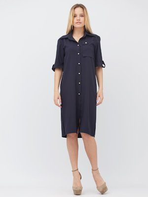 Платье синее | 3365566