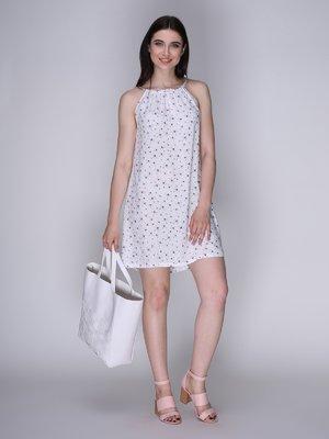 Платье белое со стрекозами | 3365843