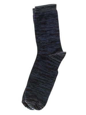 Носки темно-синие | 3301349