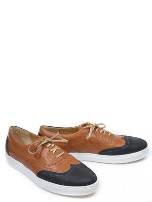 Туфли черно-рыжего цвета   2813791