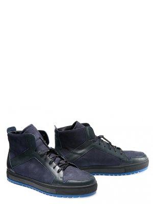 Ботинки синие   3369049