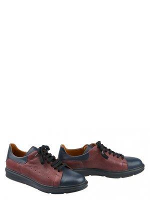 Туфли бордово-синие | 3369062