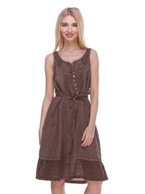 Сукня коричнева | 3366037