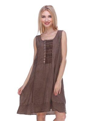 Сукня коричнева | 3366036