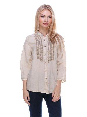 Блуза бежева | 3366020