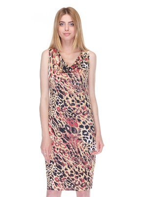 Платье анималистичной расцветки | 3365915