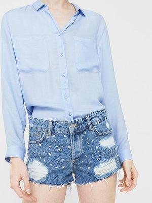 Шорти сині джинсові   3313784