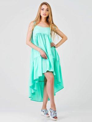 Платье мятного цвета | 3378200