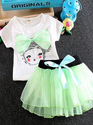 Комплект: футболка и юбка   3381049