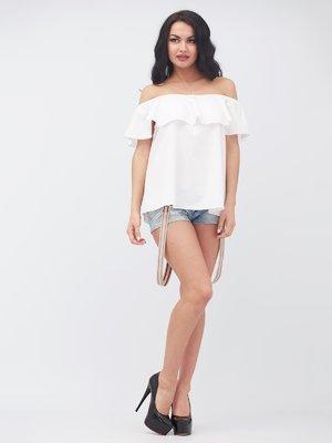 Блуза белая   3381296