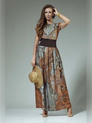 Платье в принт | 3381413