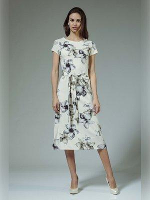 Платье в цветочный принт - AERIN - 3381441