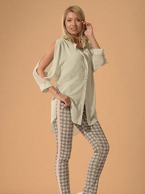 Блуза серая   3379701