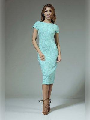 Платье мятного цвета | 3381330