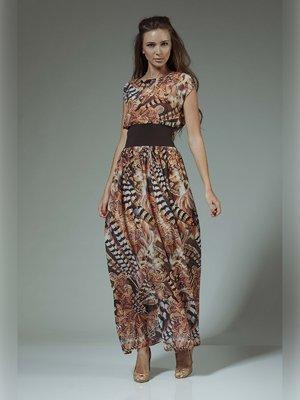 Платье в принт | 3381408