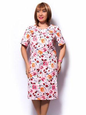Сукня рожева у квітковий принт | 3384824