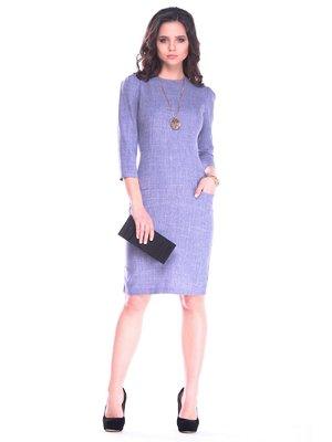 Сукня кольору фіолетового серпанку   3172702