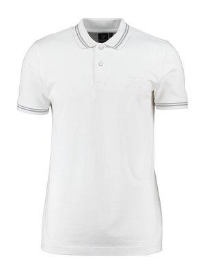 Футболка-поло белая | 3389143