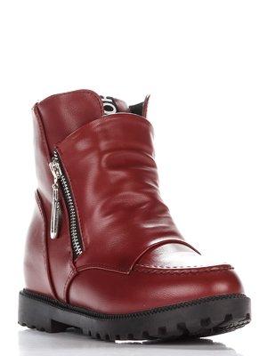 Ботинки бордовые | 3389318