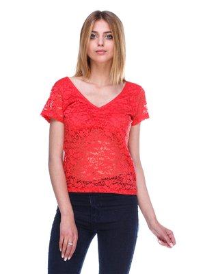 Блуза червона | 3044668
