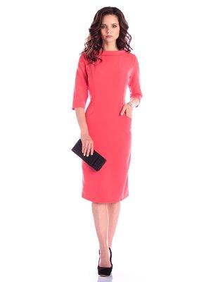 Платье коралловое   3395156