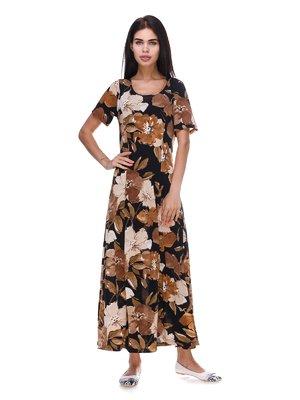 Платье в цветочный принт | 3387722
