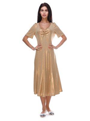Платье золотистое | 3387742