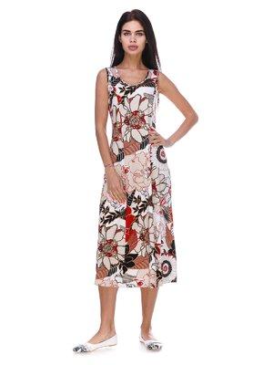 Сукня в квітковий принт | 3387660