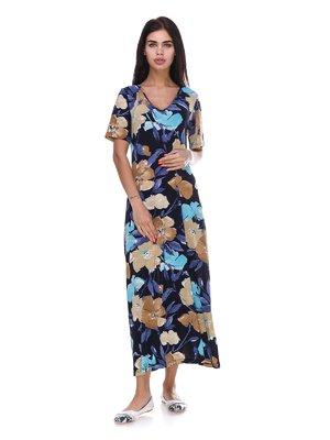 Платье в цветочный принт | 3387688