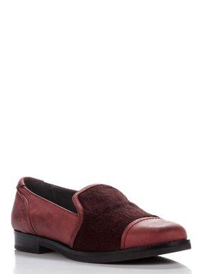 Туфли бордовые | 3395676
